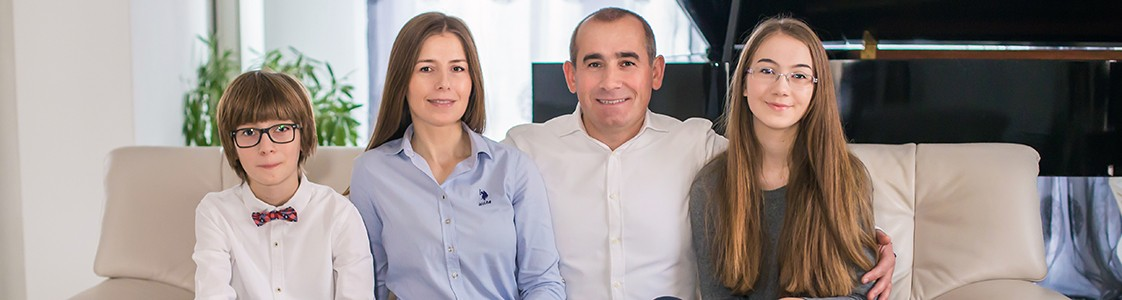 Familia Andrici – Sedinta foto de familie