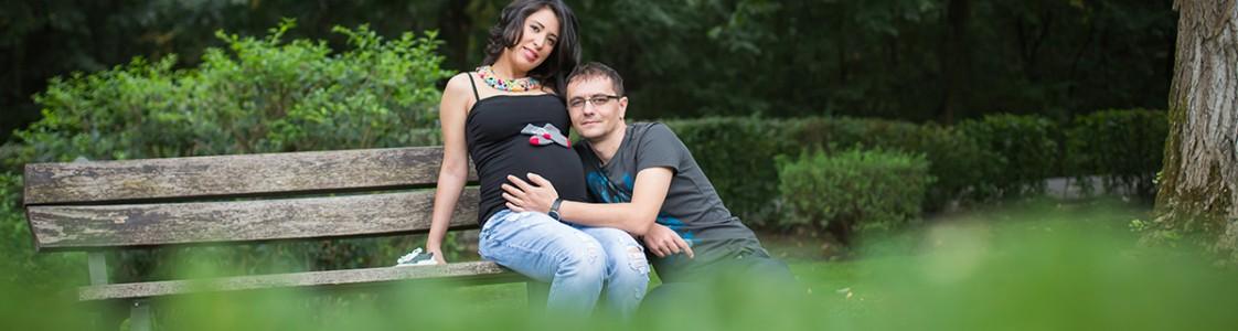 Alexandra & Razvan – sedinta foto gravida
